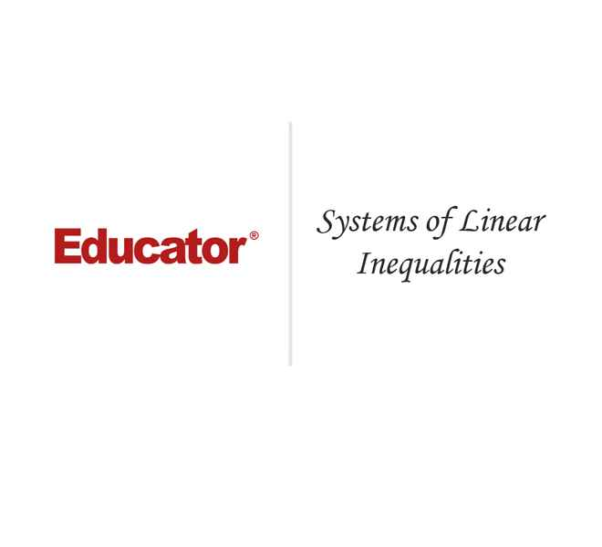 52 Systems Of Linear Inequalities Math Analysis Educator