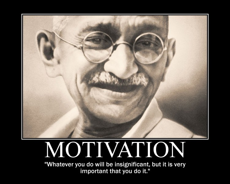 Mohandas Karamchand Gandhi Motivational Posters - Educator ...
