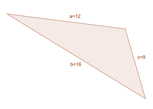 The Law of Cosines 4