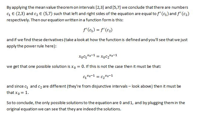 Mean Value Theorem 6