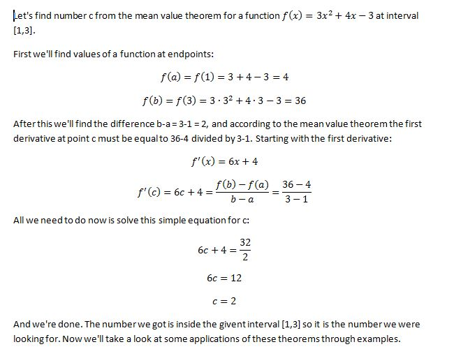 Mean Value Theorem 7