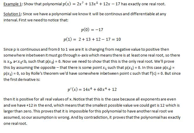 Mean Value Theorem 8