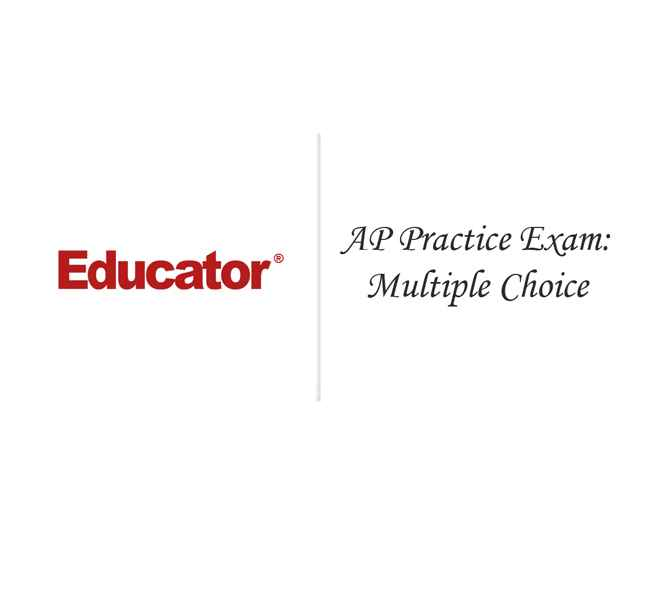 28 AP Practice Exam Multiple Choice AP Environmental