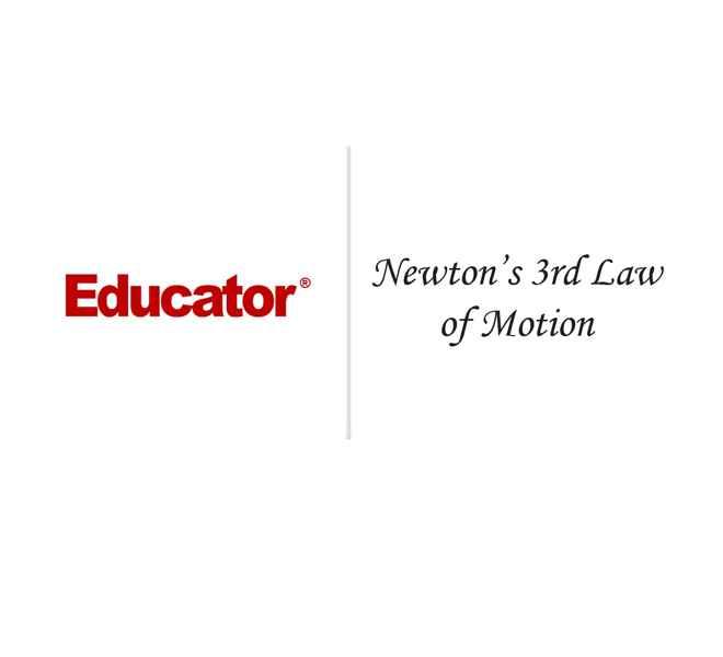 10 newton s 3rd law of motion ap physics 1 2 educator com