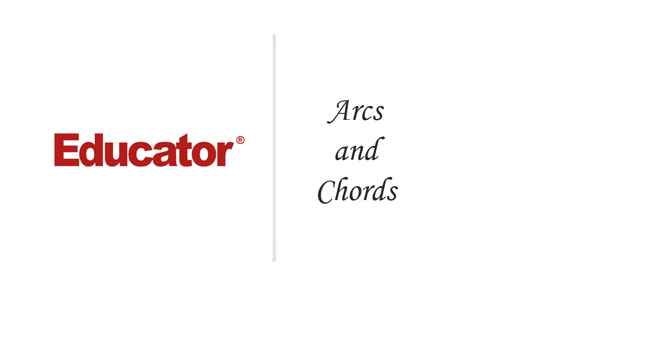 48 Arcs And Chords Geometry Educator