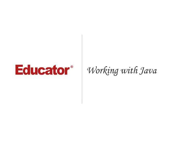 2  [Working with Java] | Java | Educator com