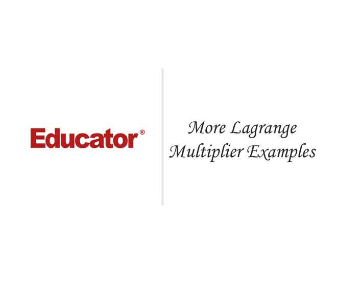 lagrange multipliers in mathematics From lagrange multiplier calculator to college mathematics, we have all kinds of things included come to mathfractioncom and understand syllabus for college, adding and subtracting rational expressions and plenty of other math topics.