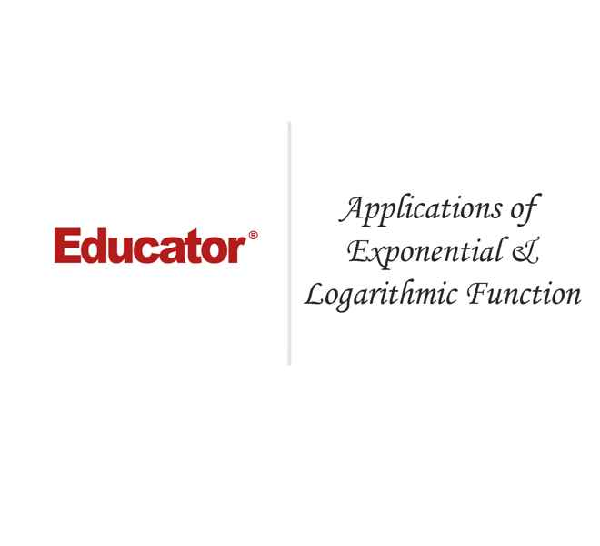 32 Application Of Exponential And Logarithmic Functions Math